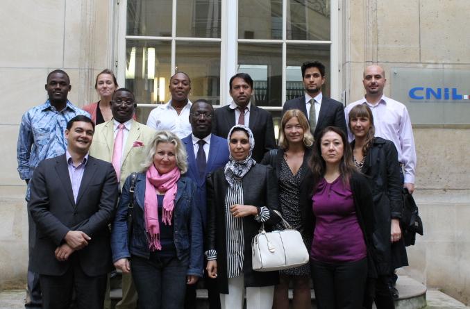 Les autorités francophones présentes à Paris le 11 juillet 2014 pour la formation sur les RCE